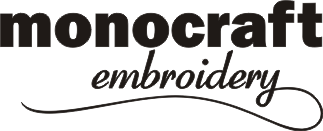 Monocraft Embroidery | Applique | Embossing